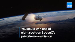 SpaceX private moon mission has eight free seats up for grabs