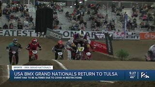 BMX Grand Nationals return to Tulsa