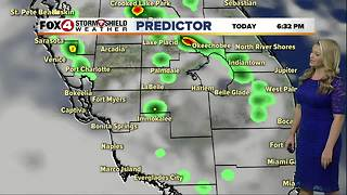FORECAST: Lower rain chances, hot and humid