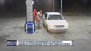 Detroit Police Department investigating murders of 4 women