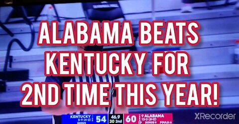 ALABAMA BEATS KENTUCKY FOR 2ND TIME THIS YEAR