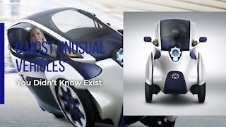 5 Most Unusual Vehicles you didn't know Exist   CARFLEX