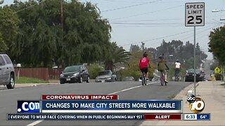 City program to expand roads for pedestrians, bicyclists