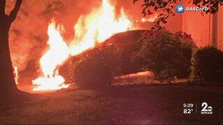 Six people left homeless following Laurel fire