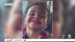 Man accused of killing 2-year-old grabs Las Vegas officer's gun