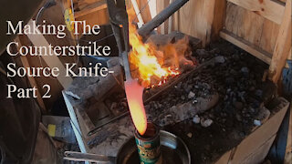 Making The Counterstrike Source Knife- Part 2