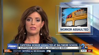 Students accused of assaulting Baltimore City schools staff member