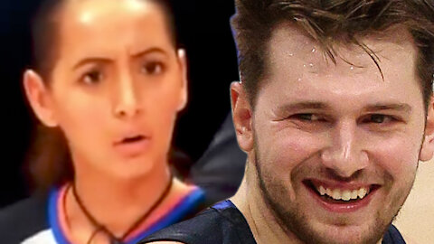 Luka Doncic Tries To Flirt With Referee, Charm Her With Smile While Arguing Foul Call