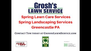 Spring Services Greencastle PA Lawn Care Services Landscaping Services