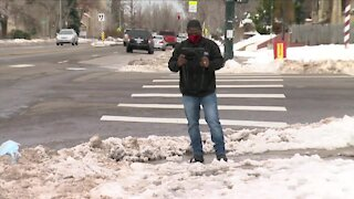 Get your sidewalks clear or Denver will cite you