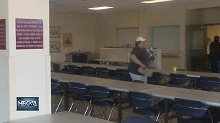 Shelter offering cool place for homeless