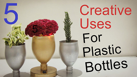 5 Creative Uses for Plastic Bottles