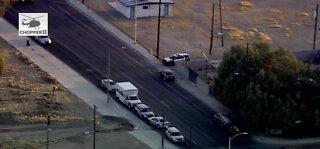 Police investigating homicide near Washington & 15