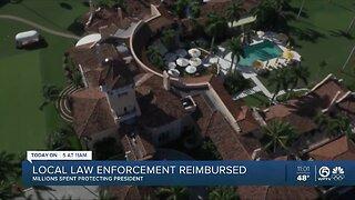 Law enforcement agencies reimbursed