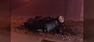 One dead after rollover crash