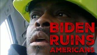 Black Lives Matter! (or How Biden Ruins Americans)