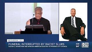 Racist hackers interrupt funeral service for Phoenix leader Calvin C. Goode