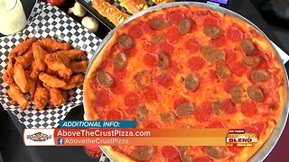 Delicious Food At Above The Crust Pizza