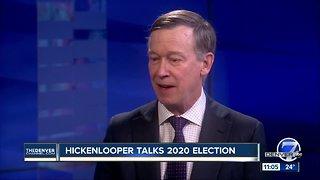 John Hickenlooper discusses 2020 presidential announcement with Denver7