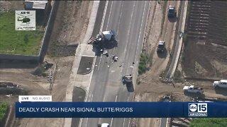 Deadly crash under investigation near Queen Creek