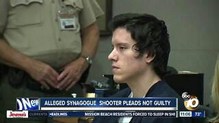 Accused synagogue shooter pleads not guilty in latest arraignment