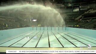 Pools prepped for U.S. Olympic Swim Trials
