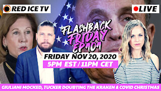 Giuliani Mocked, Tucker Doubting The Kraken & Covid Christmas - FF Ep101