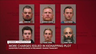 More charges issued in kidnapping plot against Gov. Whitmer