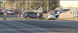 UPDATE: 2 dead in crash near Lamb Boulevard, Cheyenne Avenuel