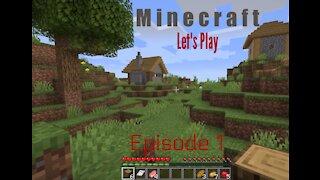 Minecraft Let's Play Episode 1 Beginner Advice