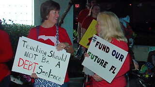 Local teachers head to Tallahassee to rally for public education