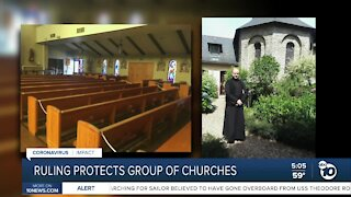 Priest overseeing local mission granted temporary relief from COVID-19 restrictions