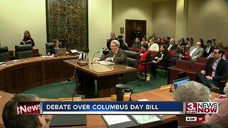 Debate over Columbus Day bill