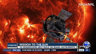 CU researchers watching mission to study the sun