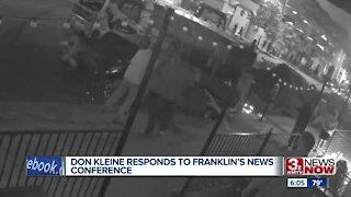 Don Kleine Responds to Franklin's News Conference