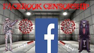 FACEBOOK VACCINE CENSORSHIP!!!!