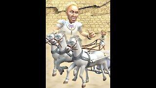 Donkey Ollie Exodus to Egypt