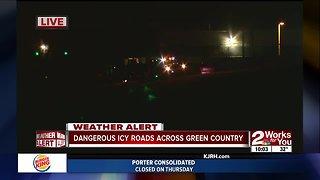 Dangerous road conditions