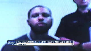 Racine police officer's alleged killer appears in court