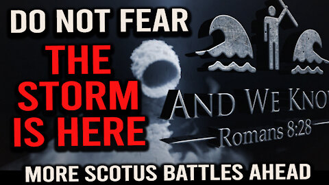 SCOTUS got you down? It's not FINISHED! Stand for TRUTH...hold the line.