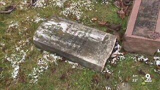 Elsmere police investigating vandalism at historic Black cemetery