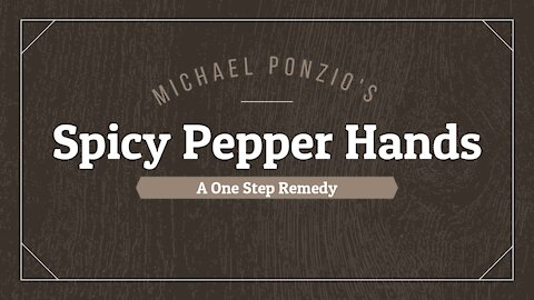 Remove Hot Pepper Oil From Hands