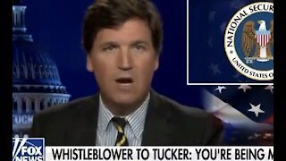 CONFIRMED: Tucker Carlson being spied on By american GOVT. TO take him off the air.