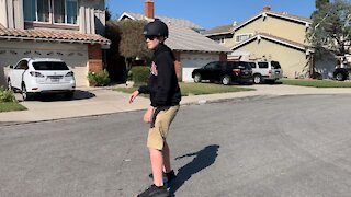 First Time Ripstick Wiggle