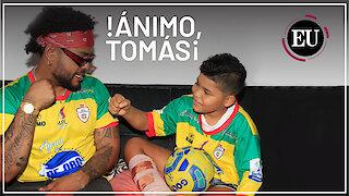 Thomas recibe el apoyo de toda Cartagena y el mundo