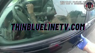 BODYCAM: Suspect Attempts To Run Over 2 Cleveland Police Officers