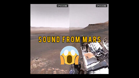 This is the sounds from mars, better use a headphone 🥶😲