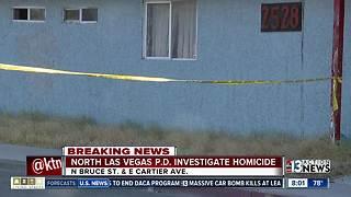 North Las Vegas police investigating homicide