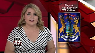 Governor Whitmer orders flags at half-staff to honor 12 Virginia Beach victims