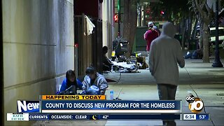 County to discuss new program for the homeless